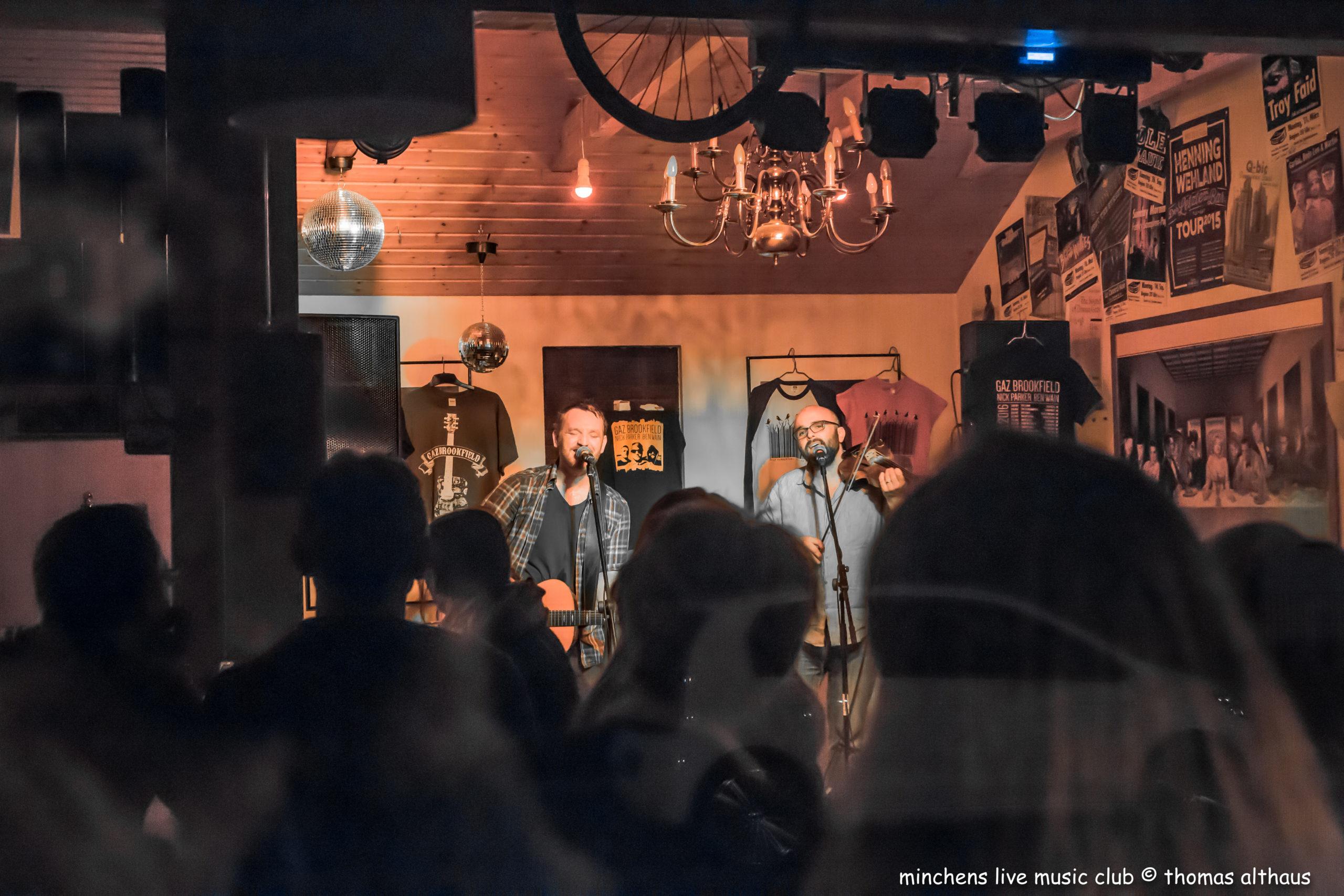 Gaz Brookfield und Ben Wain live im Filou Steinhude