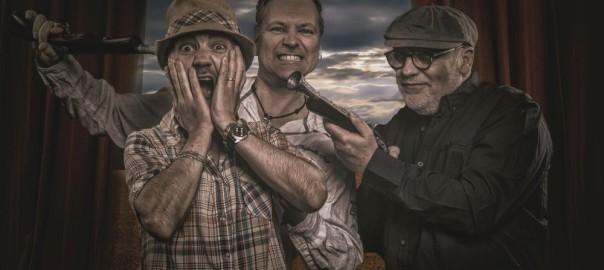 Carlini, Dodo Leo & Martin singen und spielen am 25.2.2017 live im Filou Steinhude