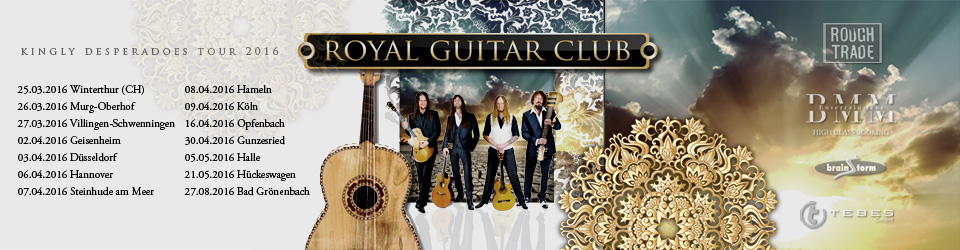 Royal Guitar Club Tour 2016