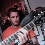 Schlagzeug Sunday Morning live im Filou Steinhude 2015