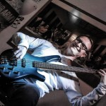 Bassist Sunday Morning live im Filou Steinhude 2015