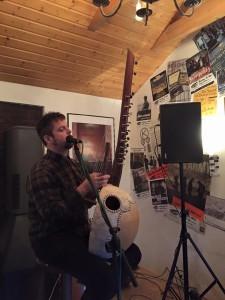 Troy Faid an der Koba live im Filou Steinhude 2016