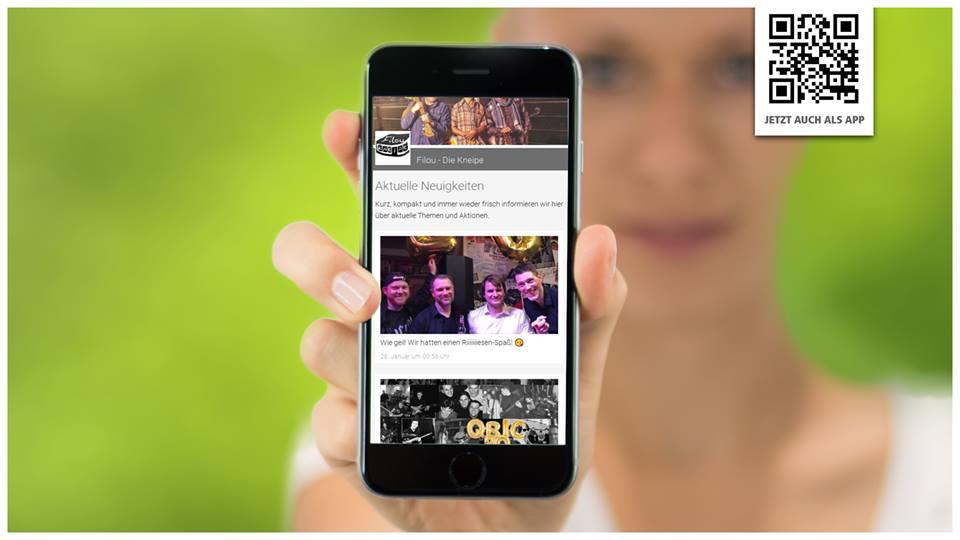 Die Filou-App für dein Handy