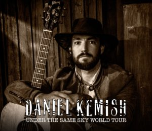 Daniel Kemish im März 2020 live in Steinhude
